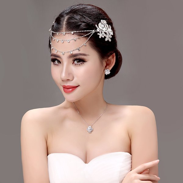 In Stock Free shipping Handmade Rhinestone Crowns Tiaras Crowns Wedding Jewellery Crowns Party Homecoming Wedding Accessories 2015