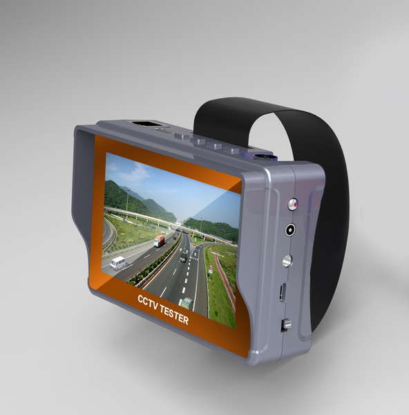 4.3 inch CCTV tester monitor analog camera testing audio UTP cable testing 12V1A output