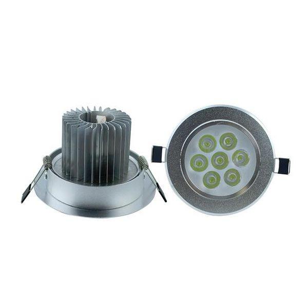 Dimmable 21W Downlight Spotlight 7X3W Bulb Energy Saving Lamp Good quality CREE High Power LEDs 9W 12W 15W 21W Ceiling Light Free Shippi
