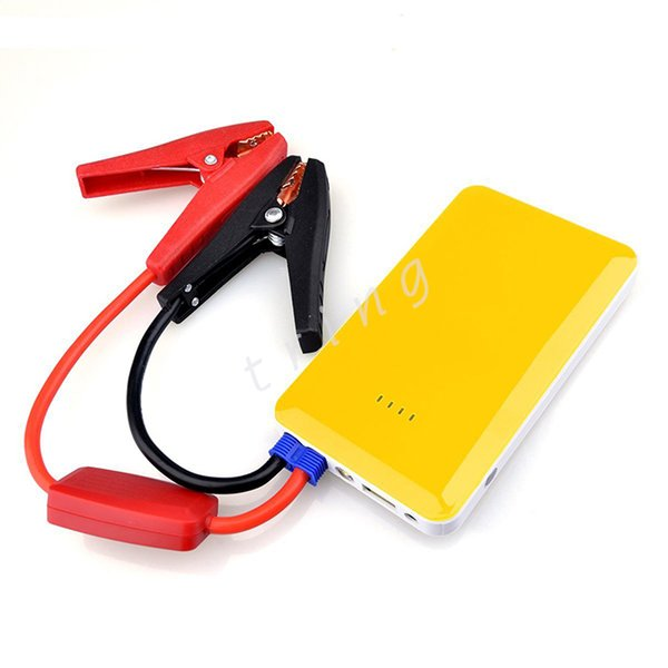 Newest Multi-Function Car emergency start power silm Power Bank Car Jump Starter cell phone External Rechargeable Battery car chargers