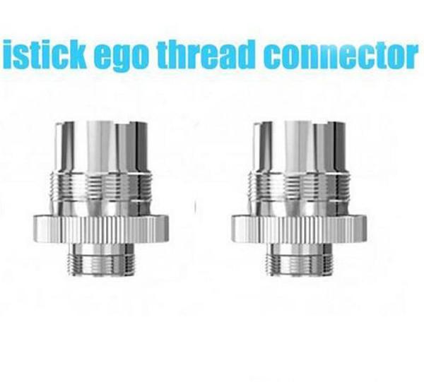 Epacket adapter 510 to ego thread connector assy adaptor For eleaf i stick mini 10w istick 20w 30w batteries ecig box mod