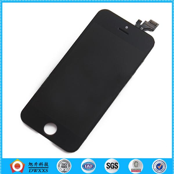 Wholesale-Good Quality Replacement Lcd Digitizer Assembly for iphone 5c lcd black color Drop Shipping