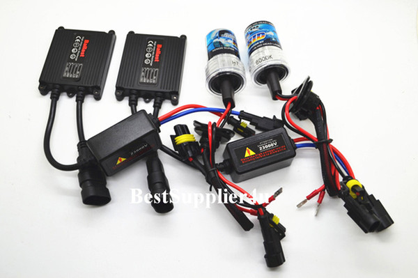 AUTOVIZION Xenon Light HID Kit Slim H1 H3 H4 H7 H10 H11 H13 9004 9005 9006 9007