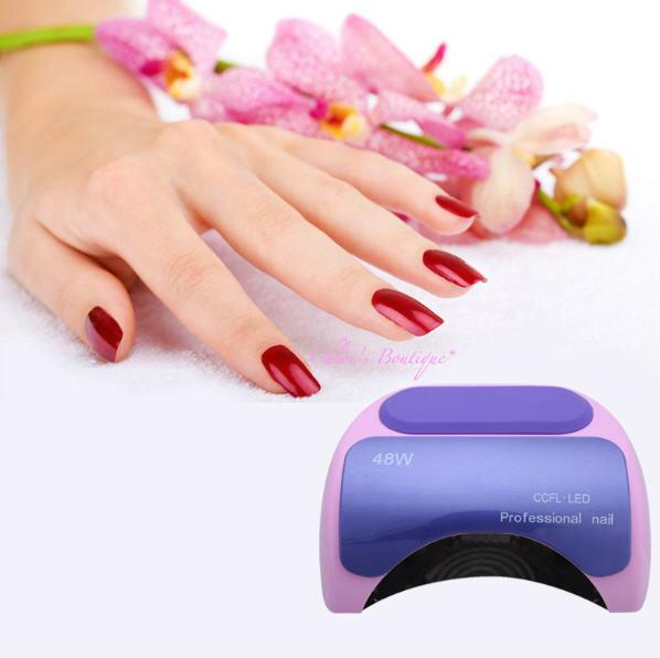 new Nail polish gel art tools Professional CCFL 48W LED UV Lamp Light 110-220V Nail Dryer with Automatic Induction Timer Setting