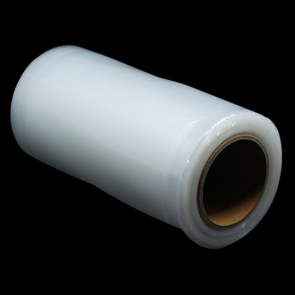 3 Rolls Embossed Nylon Plastic Vacuum Packaging Rolls Food Saving Storage Poly Bag Heat Seal For Vegetable Fruits Beans 8 Sizes