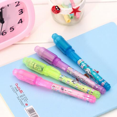 best selling Professional Wholesale UV Pen with Ultra Violet Light  invisible ink pen invisible pen 100% FREE SHIPPING Fast delivery by DHL