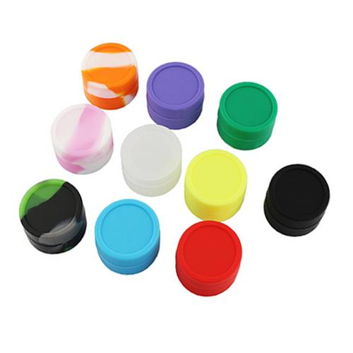Wax Containers Silicone Wax Box 5ml 7ml 9ml Silicone Jars Container for DIY RBA RDA Dry Herb ecigs