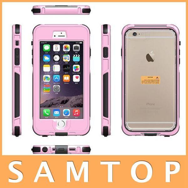 Waterproof Dustproof Shockproof Case Cover Protector for iPhone 6 iPhone 6Plus 6 Colors Water Shock Dust Snow Proof Retail Package
