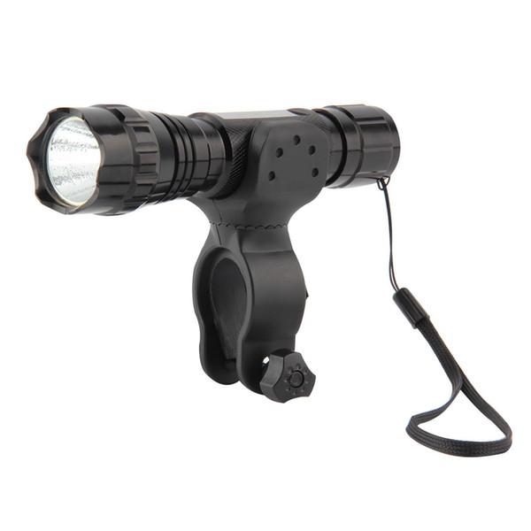 Lámpara de antorcha de alta calidad de la linterna XML XML T6 LED linterna de 2000 lúmenes con el montaje y el interruptor de presión teledirigido