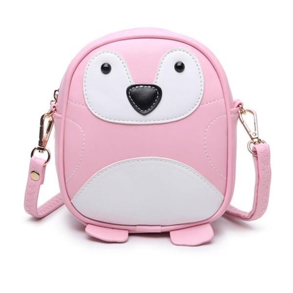 Hot New Summer Cartoon Mobile Phone Package Sweet Penguin Mini All-match Shoulder Bag Cute Women Messenger Bag