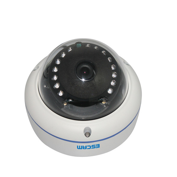 Original ESCAM Q645R ONVIF 720P Network IR Dome Camera H.264 P2P Wireless Outdoor IP Camera IP66 Waterproof Web Camera