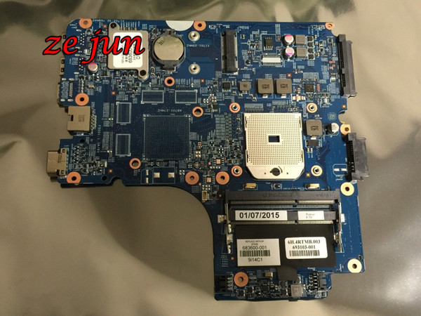 best selling Wholesale-Free Shipping For 4545S 4445S Series Laptop Motherboard 683600-001 Integrated Full Tested Working Well