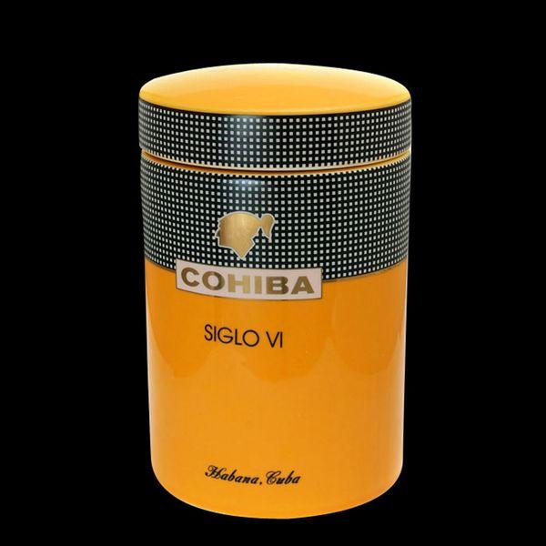 Top COHIBA Gadget Classic giallo cilindrico SIGLO VI Sheeny porcellana  KK38