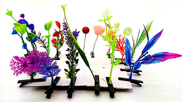 Creative new artifact sell Meng long grass sprouts flower head hairpin wholesale cosplay resort emitting hot decoration