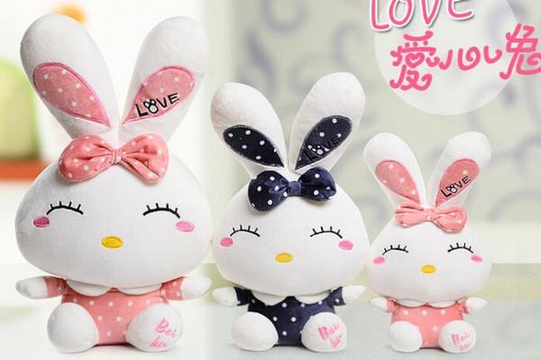 2016 Neue Kinder Valentinstag Geschenk Verkauf Seiner Freundin Liebe  Kaninchen Bugs Bunny Plüschtier Kaninchen Puppe Juguetes