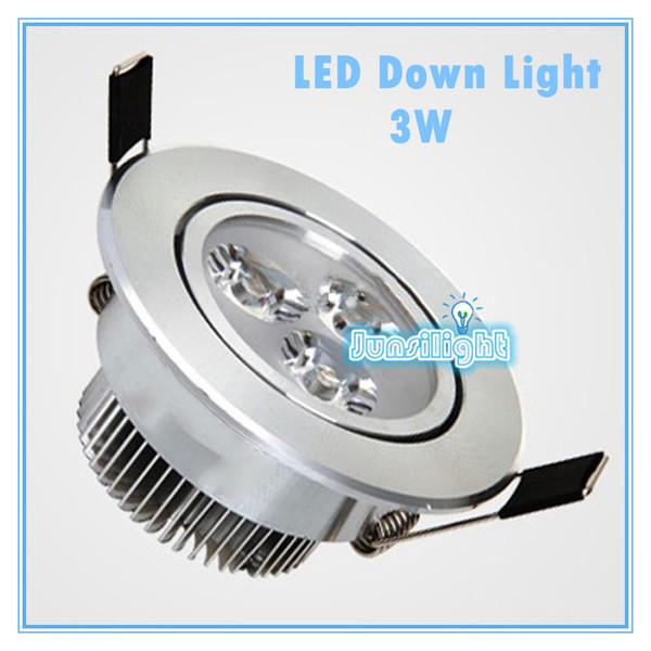 Cree LED Downlight Ceiling 3W 4W 5W 7W 9W 12W 15W Recessed LED light Downlights Dimmable LED down Lights Lamps Warm White 110-240V