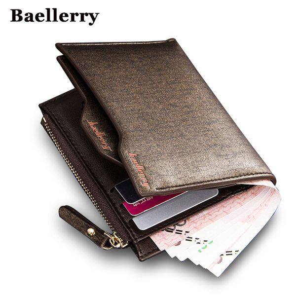 Ingrosso - Portafogli uomo con porta carte rimovibile in pelle rimovibile per uomo di alta qualità garanzia portafogli marca famosa borsa di lusso portafoglio corto
