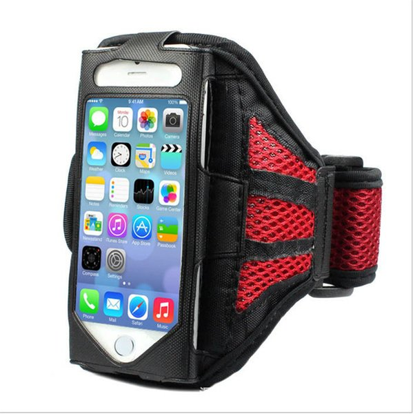 For Iphone 6 Waterproof Sports Running Armband Case Workout Armband Holder Pounch For iphone Cell Mobile Phone Arm Bag Band