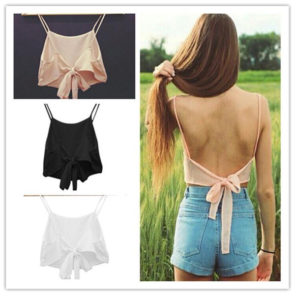 top popular Fashion Sexy Women Sleeveless bra Shirt Summer Casual Blouse Crop Tops Bra 2021