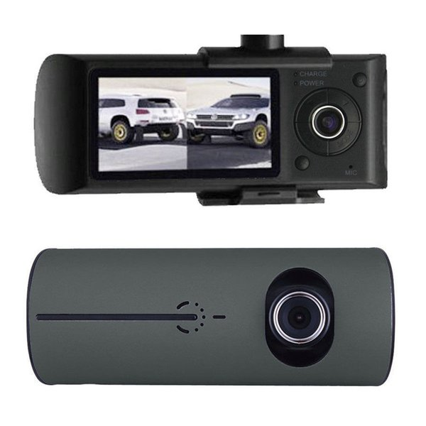 Dual Lens Car DVR X3000 R300 Dash Camera car camera dvr with GPS G-Sensor Camcorder 140 Degree Wide Angle 2.7 inch Cam Video Recorder