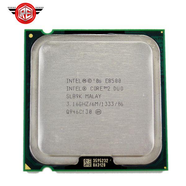 Intel Core 2 Duo E8500 Processor Dual-Core 3.16Ghz FSB1333MHz Socket 775 cpu