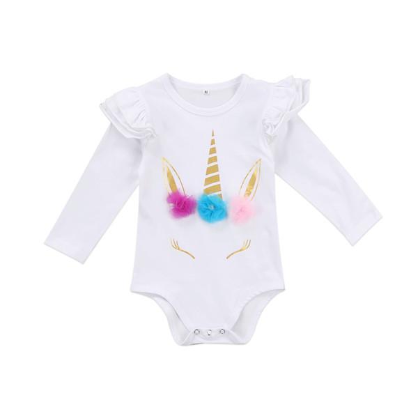 Neugeborenes Baby-Spielanzug-Kleinkind-Kleinkind-Gesamtmädchen-Trikot-KinderBoutique-Kleidungs-Säuglingsoverall-Kind-Bodysuit