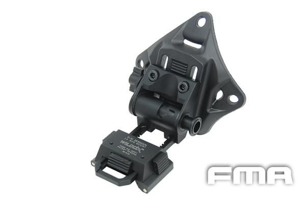 All'ingrosso-FMA Helmet Accessory L4G19 Casco NVG Mount BK 100% CNC TB690 Spedizione gratuita