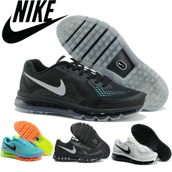 Nike Air Max 2016 Mens Running Shoes 100% Original Mens Running Shoes Cheap Air Max 2014 Run Best Cheap Jogging Shoes Running Clothes Sports Shoes For