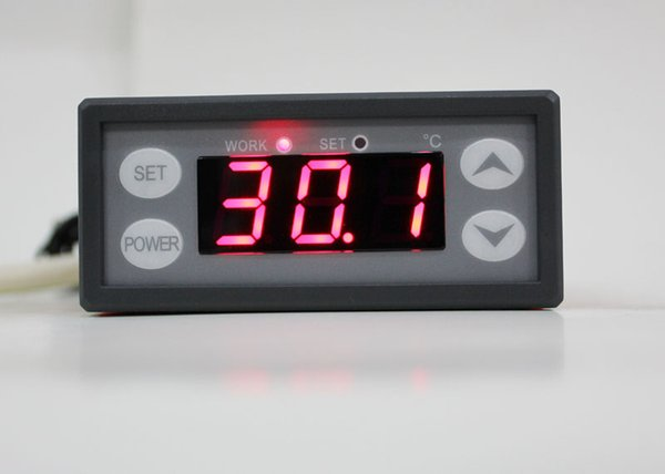 Controlador de temperatura digital vendedor caliente del envío libre, termóstato electrónico 12V 24V 110V 220V WH9002B 30 PC