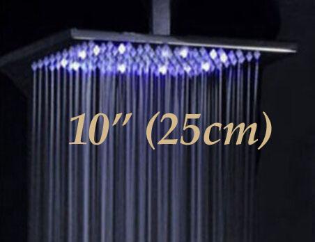 10 polegadas chuveiro