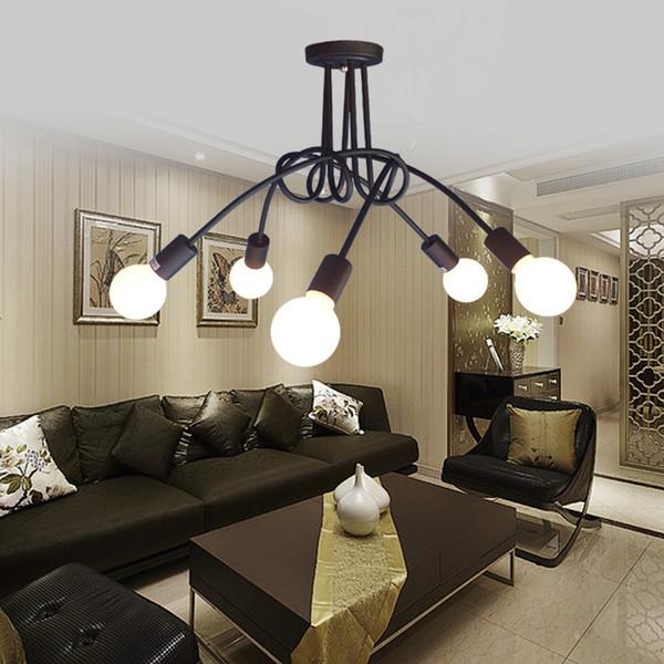 E27 * 5 Lichter, Max 60W Modern / Zeitgenössische Malerei Metall Kronleuchter  Wohnzimmer / Schlafzimmer
