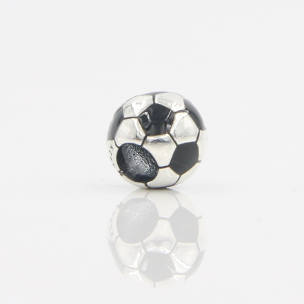 Wholesale Good Quality Women Pandora Bracelet Original 925 Sterling Silver Football Charm Bead Free Shipping In Lucky Sonny Store LB-06