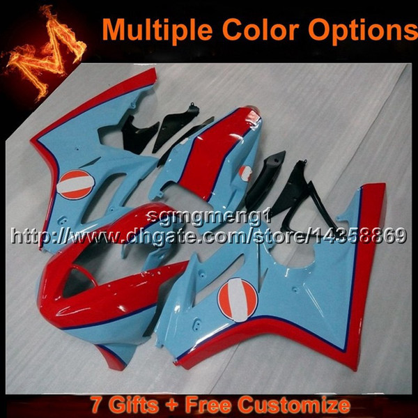 23colors+8Gifts injection mold RED BLUE motor cover ABS bodywork motorcycle Fairing for Daytona 675 2006-2008 675 2006 2007 2008 07 08