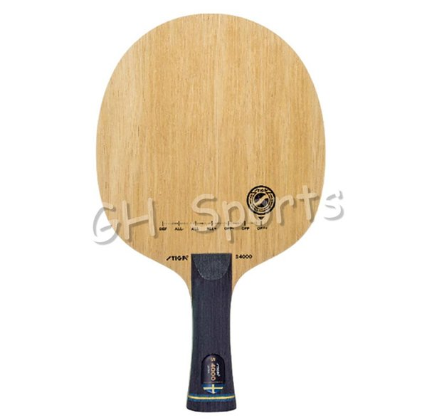 Atacado - Stiga S-4000 (S 4000) Lâmina de tênis de mesa para raquete de pingue-pongue