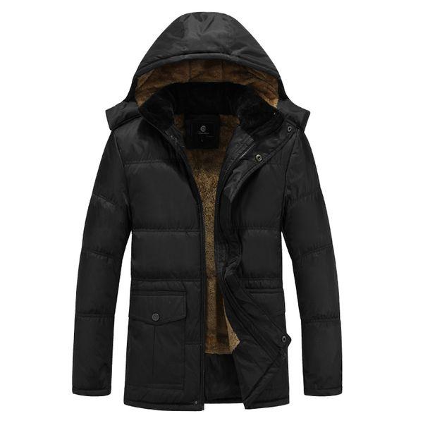 Wholesale-2017 Winter Mens White Duck Down Jacket 4XL 5XL Plus Size Warm Fleece Coat Ultra Light Goose Feather Down Jacket Hooded Parka