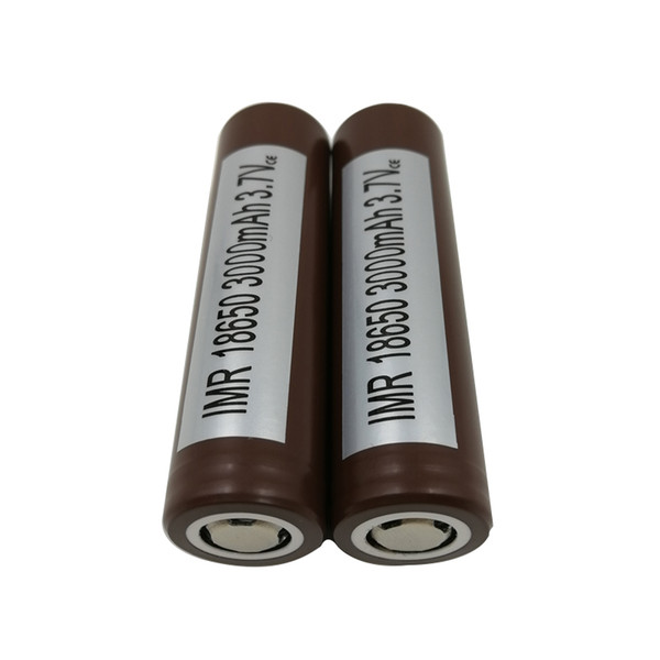 best selling 100% Top High Quality for HG2 18650 Battery 3000mah 35A Max Discharge High Drain Batteries 25R VTC5 VTC4 HE2 HE4 Fedex Free Shipping