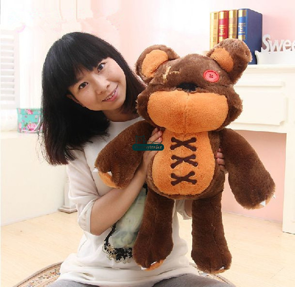 Dorimytrader Hot New 24'' / 60cm Big Stuffed Soft Plush Cute Giant Bear Toy, Nice Gift for Babies, Free Shipping DY60679