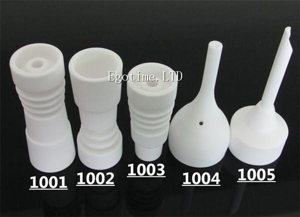 Chiodo ceramico senz'ossa / tappo in carb ceramica, imballaggio individuale, alta qualità, offriamo anche chiodo in vetro chiodo in bong / chiodo quarzo / smerigliatrice erba