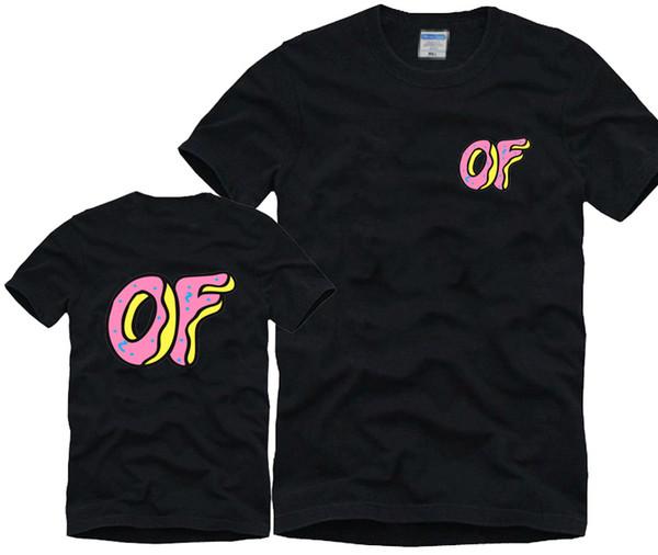 Venta al por mayor de los hombres Casuall moda camiseta Odd Future algodón Hip Hop Camisas Mujeres Ropa Unisex 10 colores Envío gratis