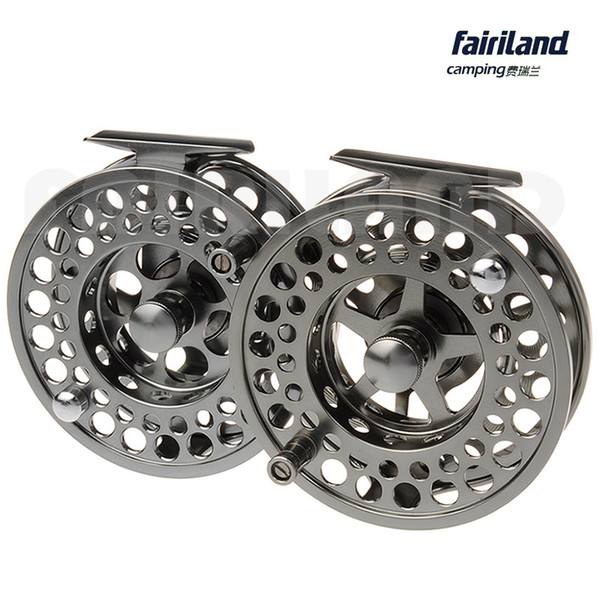 """wholesale DIA2.8""""-4.3"""" 2BB+1 metal fly fishing wheel PRECISION MACHINED fly reel from BAR-STOCK ALUMINUM express line shipping"""