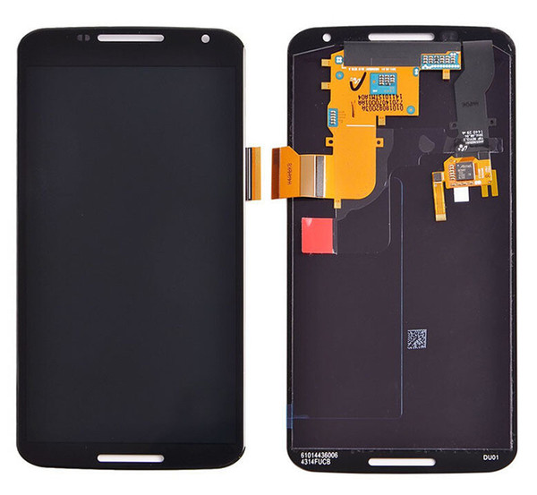 Wholesale-High Quality For Motorola Google Nexus 6 XT1100 XT1103 full LCD Display+Digitizer Touch Screen Glass Assembly Replacement
