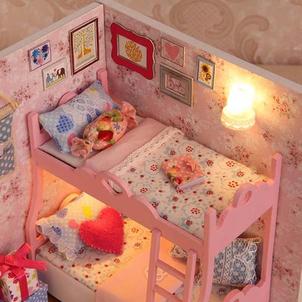 handmade dolls house furniture. Handmade Doll House Furniture Miniatura Diy Houses Miniature Dollhouse Wooden Toys For Children Grownups Birthday Dolls E