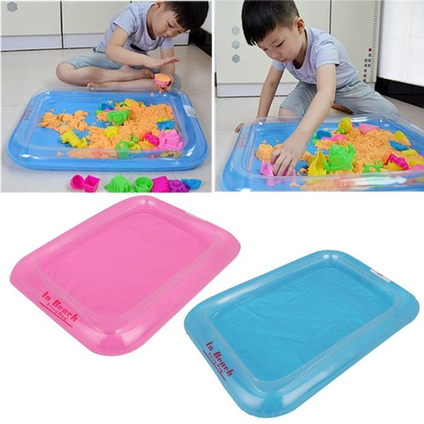 High Quality Children's PVC Inflatable Sandbox Set Beach Toys Sand Kids Baby Educational Toy Thicker section Sand Beach Toys