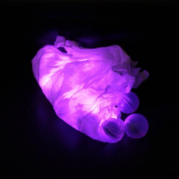 50 قطعة / الوحدة الجنية led اللؤلؤ النرجيلة الشيشة أضواء 2 سنتيمتر الكرة أضواء بطارية تعمل التوت ماء العائمة مصابيح ل حفل زفاف ديكور