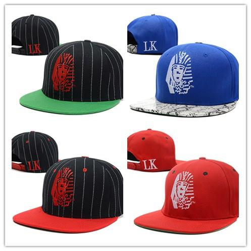 Wholesale-100 styles New Style Last Kings Snakeskin Strapback Hats Red black Grey Fashion Hip Hop LK SnapBack Caps Sun Hat cheap cap