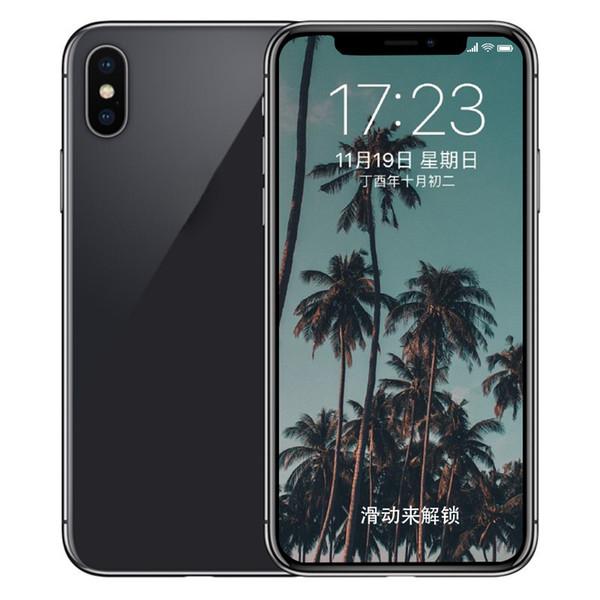 ERQIYU goophone X Xs 5.8inch shown 4G LTE Smartphones 4G 128GB Octa Core 3D Touch unlocked MP3 Back Glass cell phones