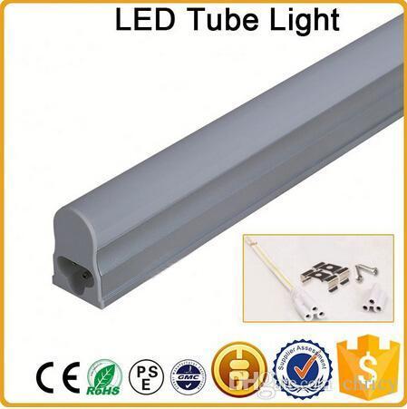 CE RoHS FCC 600mm T5 LED tube light high super bright 7W Warm/nature/cold white LED Fluorescent Bulbs AC85-265V integration tube