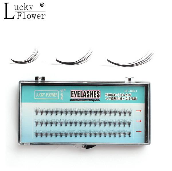Wholesale-Soft cluster false eyelashes planting eyelash extension beauty makeup tools professional mink eyelashes