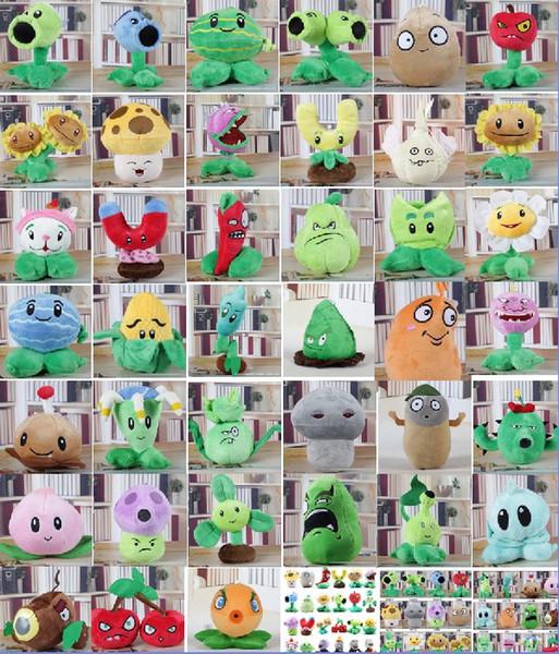 39 stilleri Bitkiler vs. Zombie Peluş Oyuncaklar bebek Karikatür anime figürü Filmler Aksesuarlar Dolması çocuk oyuncakları Klasik Sıcak oyunlar bebekler V162