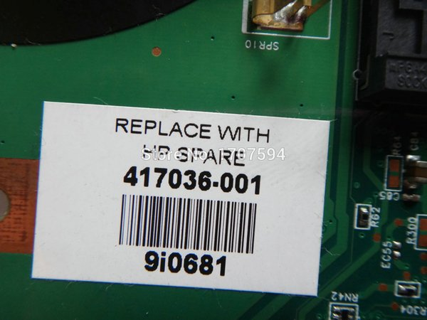 for HP 417036-001 Motherboard  DV2000 Laptop Intel HD 48.4F501.011 05232-1